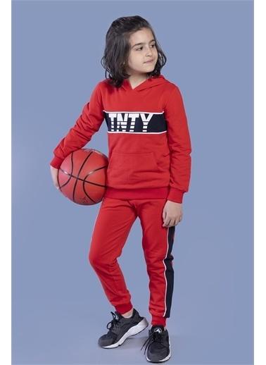 Toontoy Kids Toontoy Erkek Çocuk Tnty Baskılı Takım Kırmızı